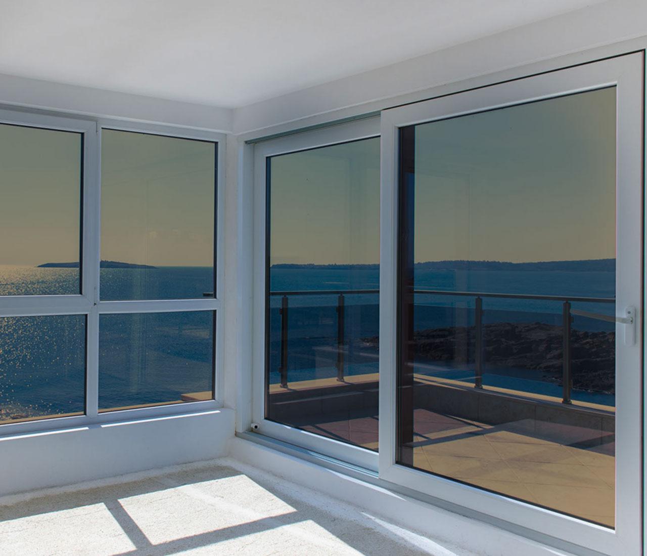 Films solaire securite et design - Film pour baie vitree ...
